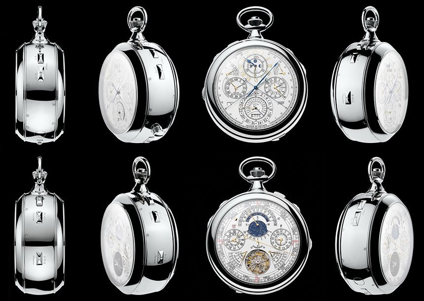 Vacheron Constantin Reference 57260 Pocket Watch Is World's Most Complicated Watch Ever Made Pocket Watch Watch Releases