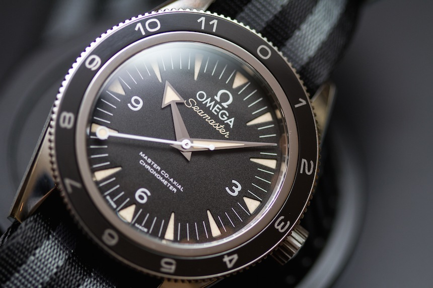 Omega Seamaster 300 Spectre Limited Edition James Bond Watch Hands-On