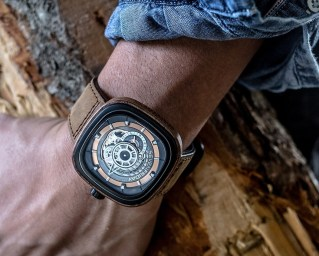 SevenFriday P2B/03-W 'Woody' Limited Edition Watch Watch Releases