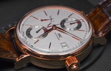 IWC Portofino Hand-Wound Monopusher Chronograph Watch Hands-On Hands-On