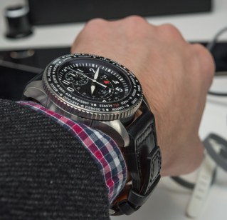 IWC Pilot's Timezoner Chronograph Watch Hands-On Hands-On