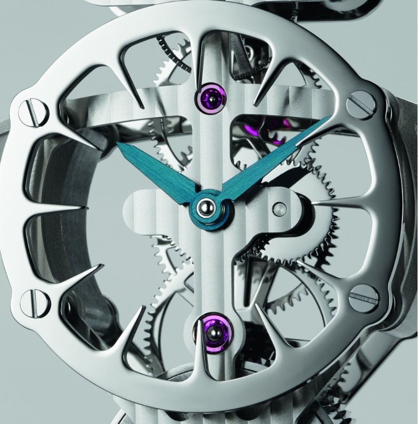MB&F Sherman 'Happy Robot' Limited Edition Clock Watch Releases