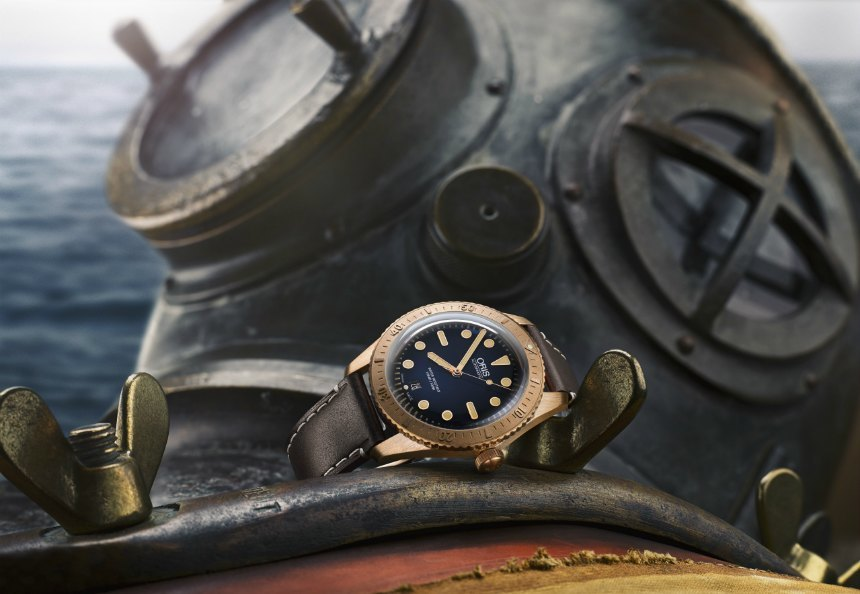 Oris Carl Brashear Limited Edition Dive Watch Watch Releases