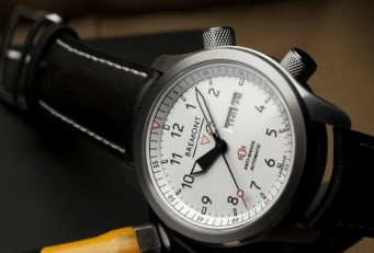 New Bremont MBII-WH Watch With White Dial Watch Releases