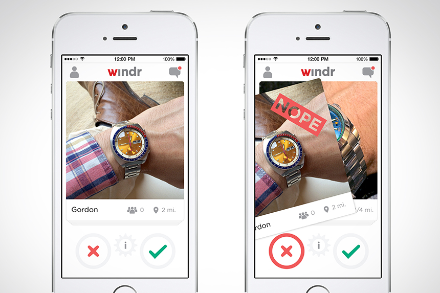Windr Is Matchmaking App For Watch Lovers Featured Articles