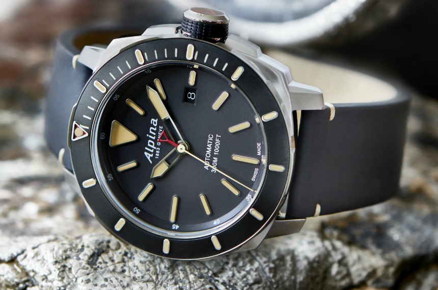 Alpina Seastrong Diver Automatic Watch ABlogtoWatch - Alpina watches price