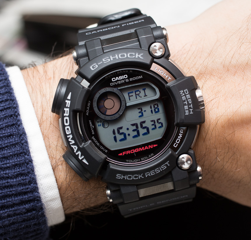 Casio G Shock Frogman Gwf D1000 Hands On The Ultimate