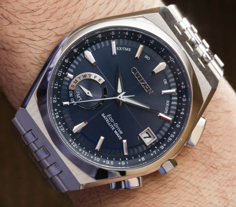 6b323ce8aa2 Citizen Satellite Wave World Time GPS CC3020-57L Watch Hands-On Hands-On