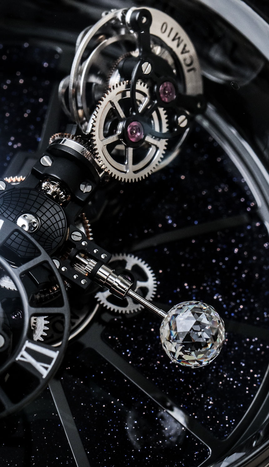 Jacob Co Astronomia Clarity Black Watches Hands On Ablogtowatch