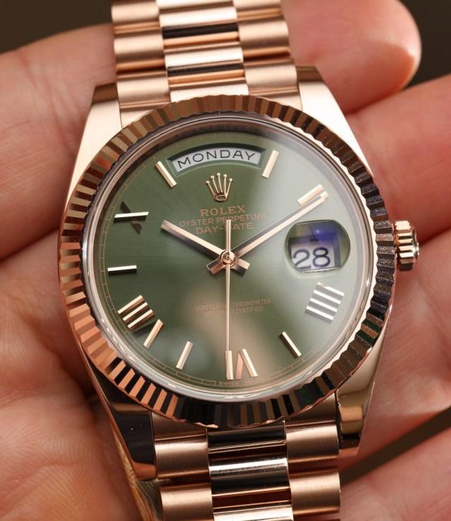 Rolex Day Date 40 60th Anniversary Watch