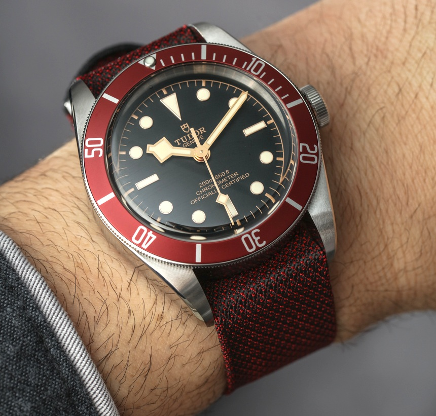 Tudor Heritage Black Bay Watch With In-House Movement Hands-On Hands-On