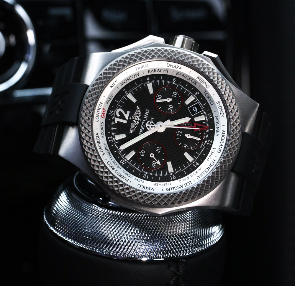 Car & Watch Review: Bentley Mulsanne Speed, Breitling For