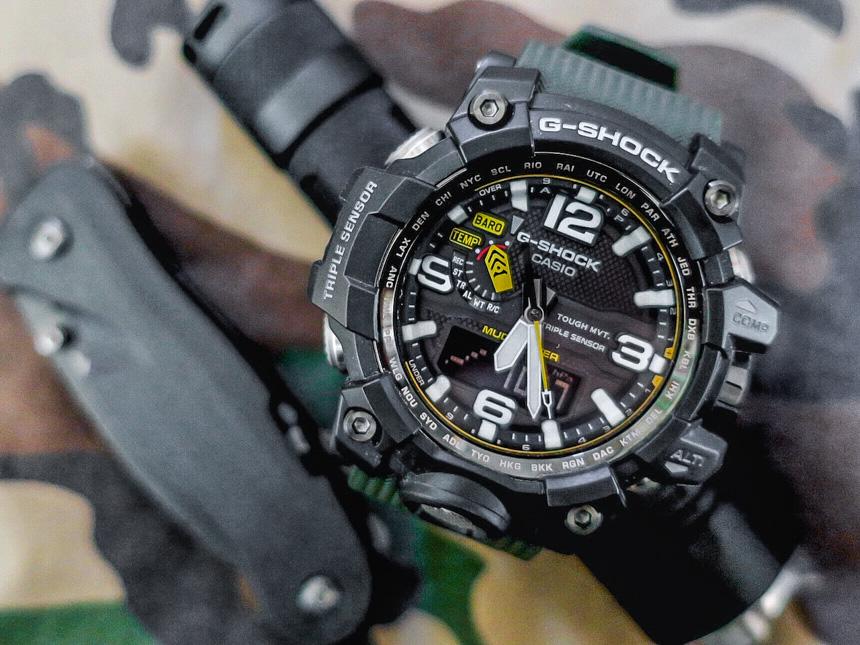 Casio G Shock GWG 1000 1A3 Mudmaster Watch Review