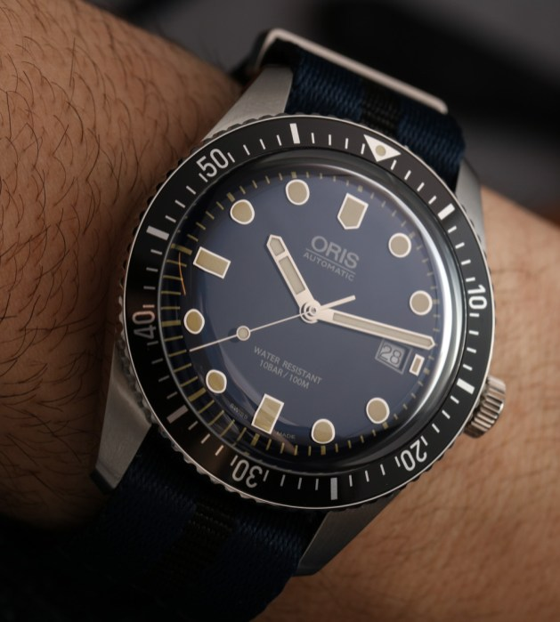 80829ee909c Oris Divers Sixty-Five 42mm Watch Hands-On Hands-On