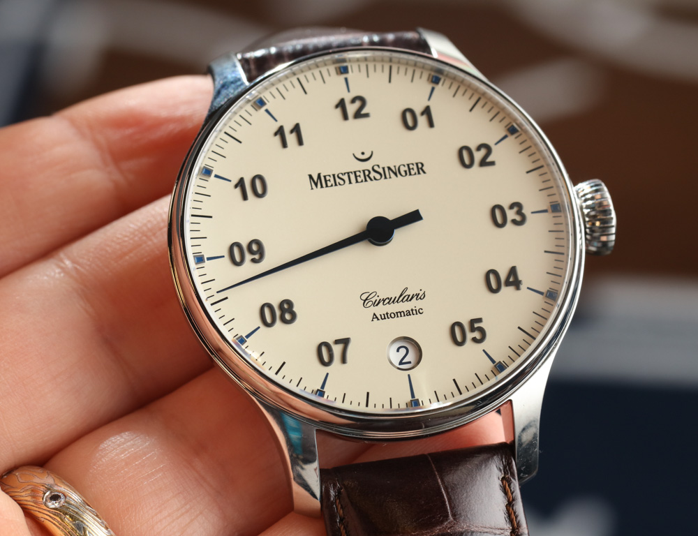 MeisterSinger Circularis Automatic Watch Hands-On Hands-On