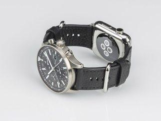 Sinn Dual Strap System Allows Apple Watch & Sinn Watch On The Same Wrist Luxury Items