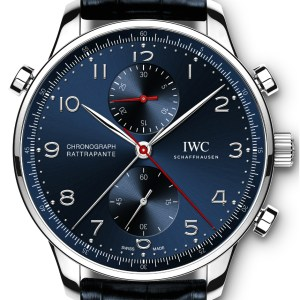 Three New IWC Portugieser Chronograph Rattrapante Watches Honor Cities Of Milan, Paris, & Munich Watch Releases