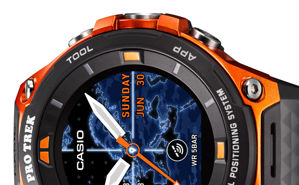 e3c4f976515 Casio Pro Trek Smart WSD-F20 GPS Watch Watch Releases