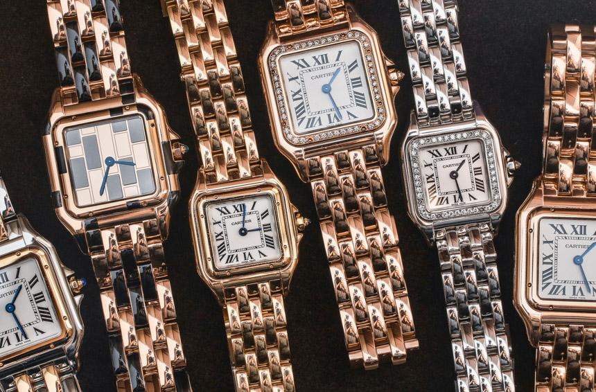 Cartier Panthre De Cartier Watches Hands On ABlogtoWatch