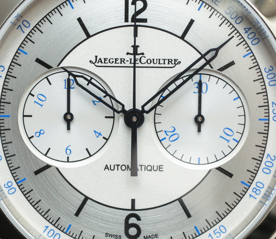 Jaeger Lecoultre Master Control Date Master Geographic