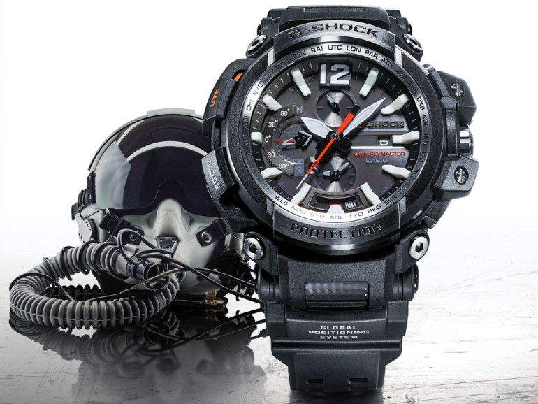 Casio G-Shock Gravitymaster GPW2000-1A GPS Bluetooth Connected Watch Watch Releases