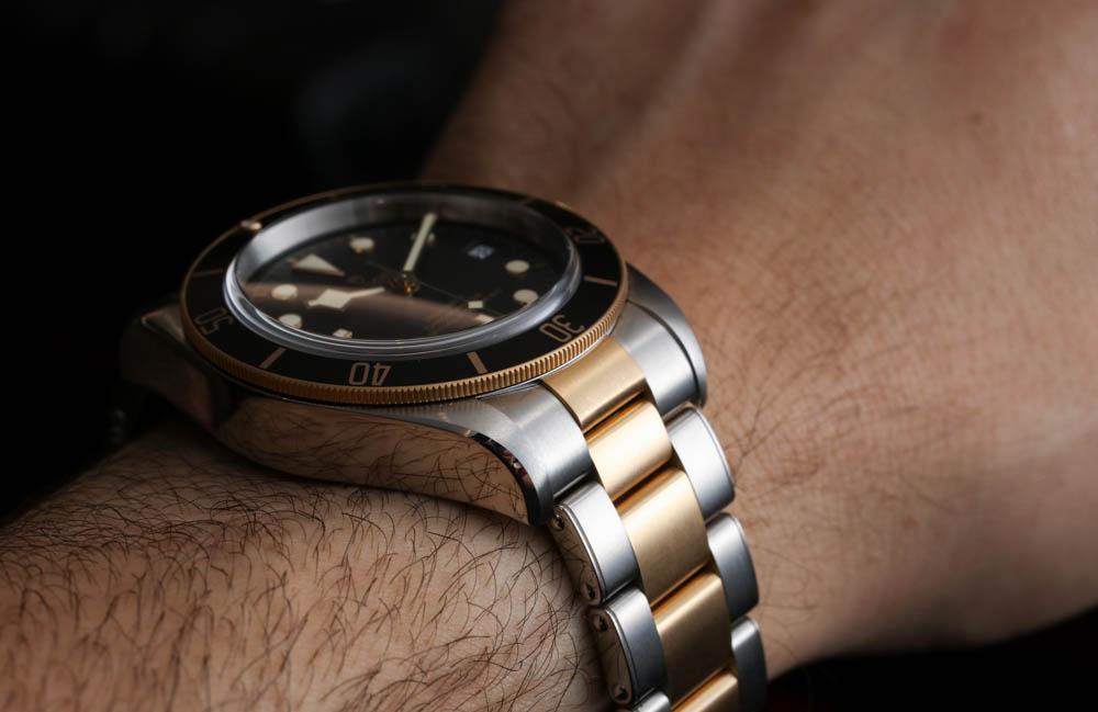 Tudor Heritage Black Bay SampG 79733N Two Tone Watch Hands