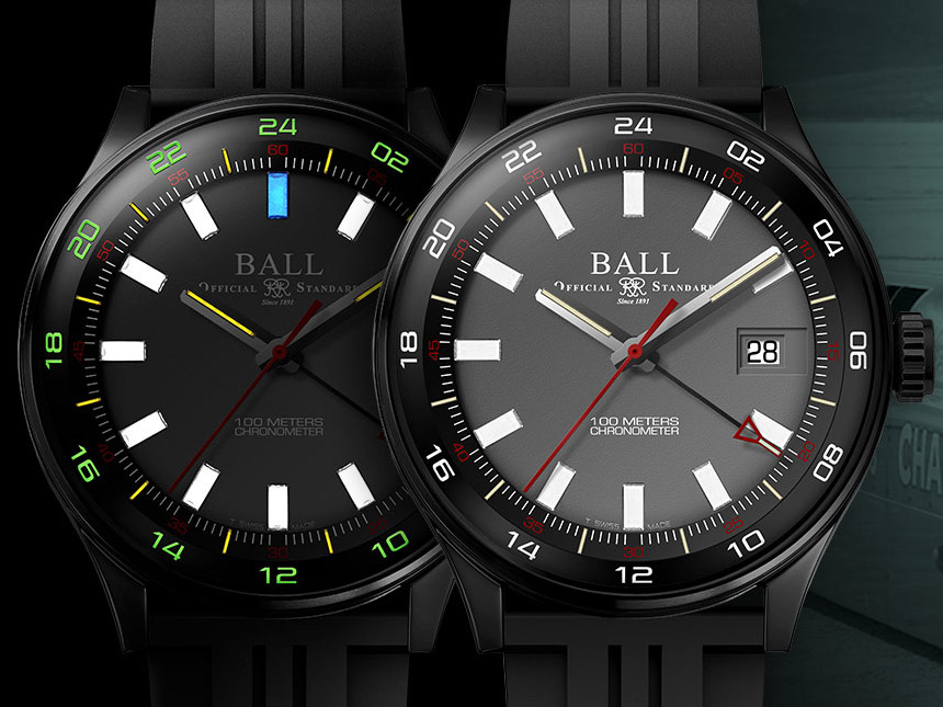 Ball roadmaster gmt watch ablogtowatch for Ball watches
