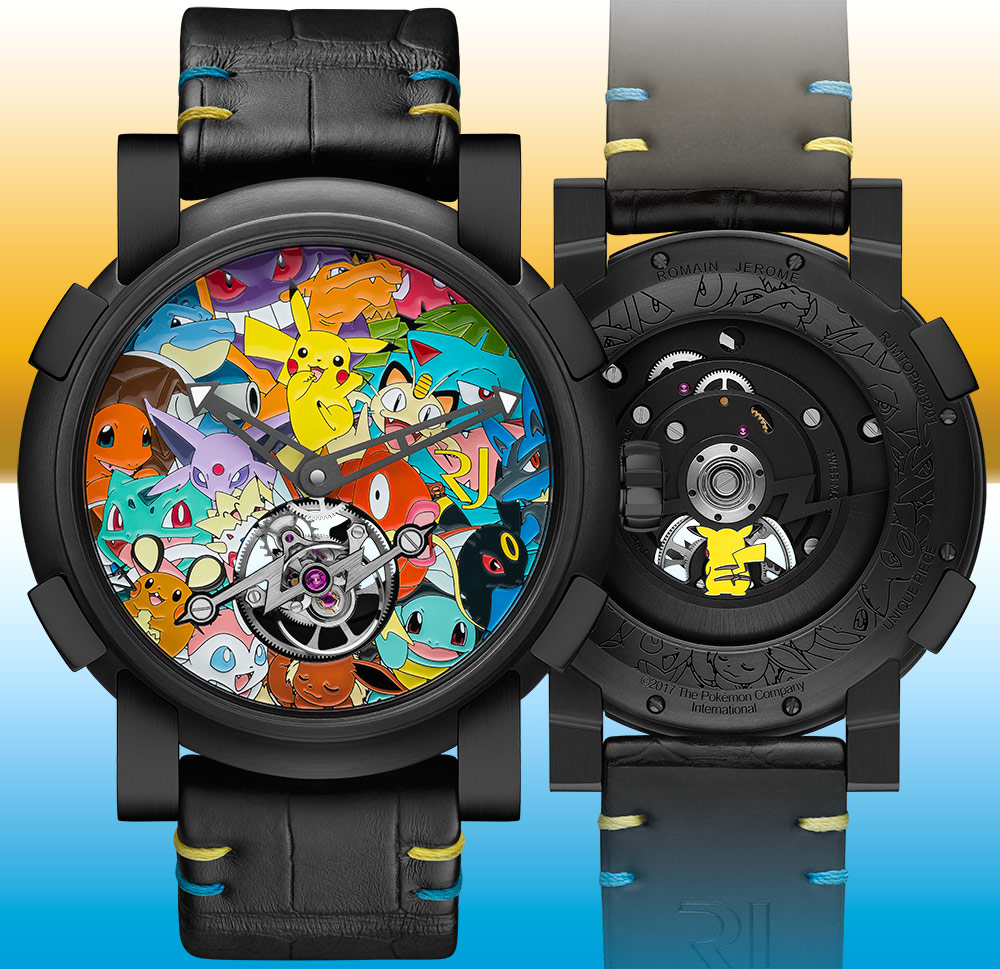 costs popcorn pok ablogtowatch tourbillon pokemon pikachu releases watch rj mon jerome watches kids romain