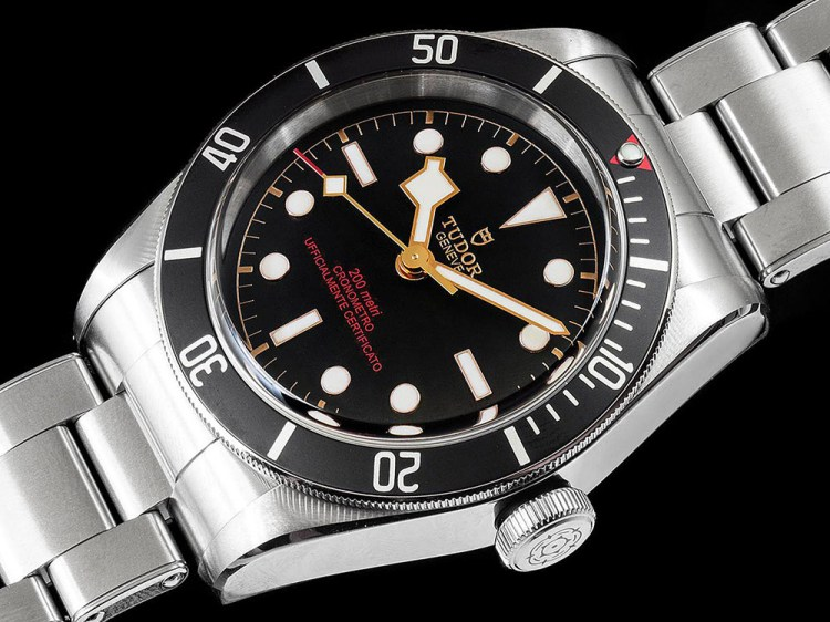 Tudor heritage black bay 39 orologi passioni 39 limited edition watch for italy only ablogtowatch - Tudor dive watch price ...