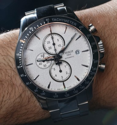 767c3355887 Tissot V8 Automatic Chronograph Watch Hands-On | aBlogtoWatch