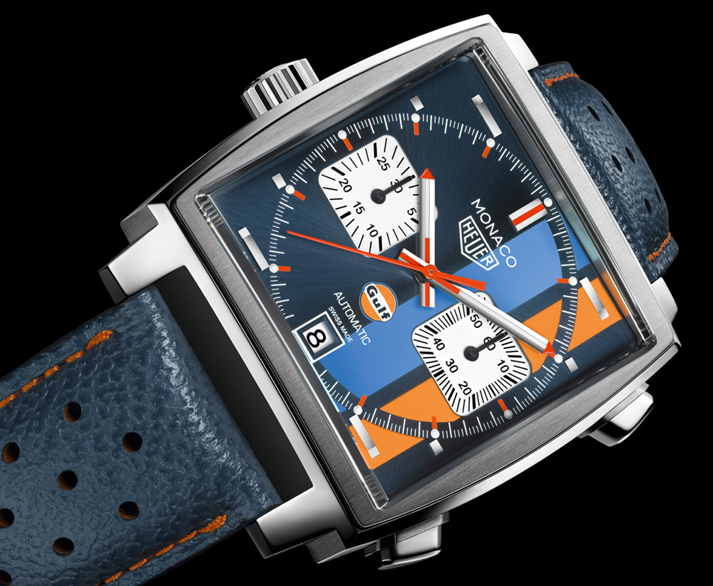 This Tag: TAG Heuer Monaco Gulf Special Edition Watch