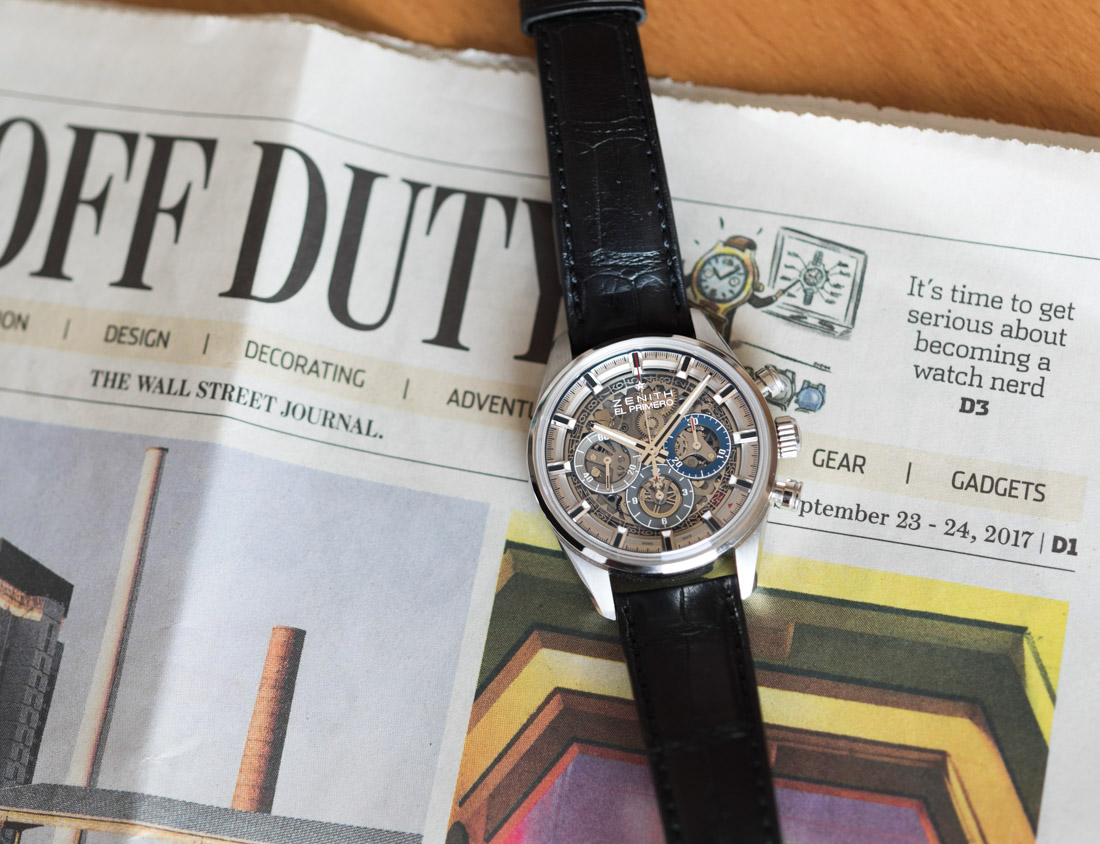 Zenith Chronomaster El Primero Full Open 38.00 Watch Review Wrist Time Reviews