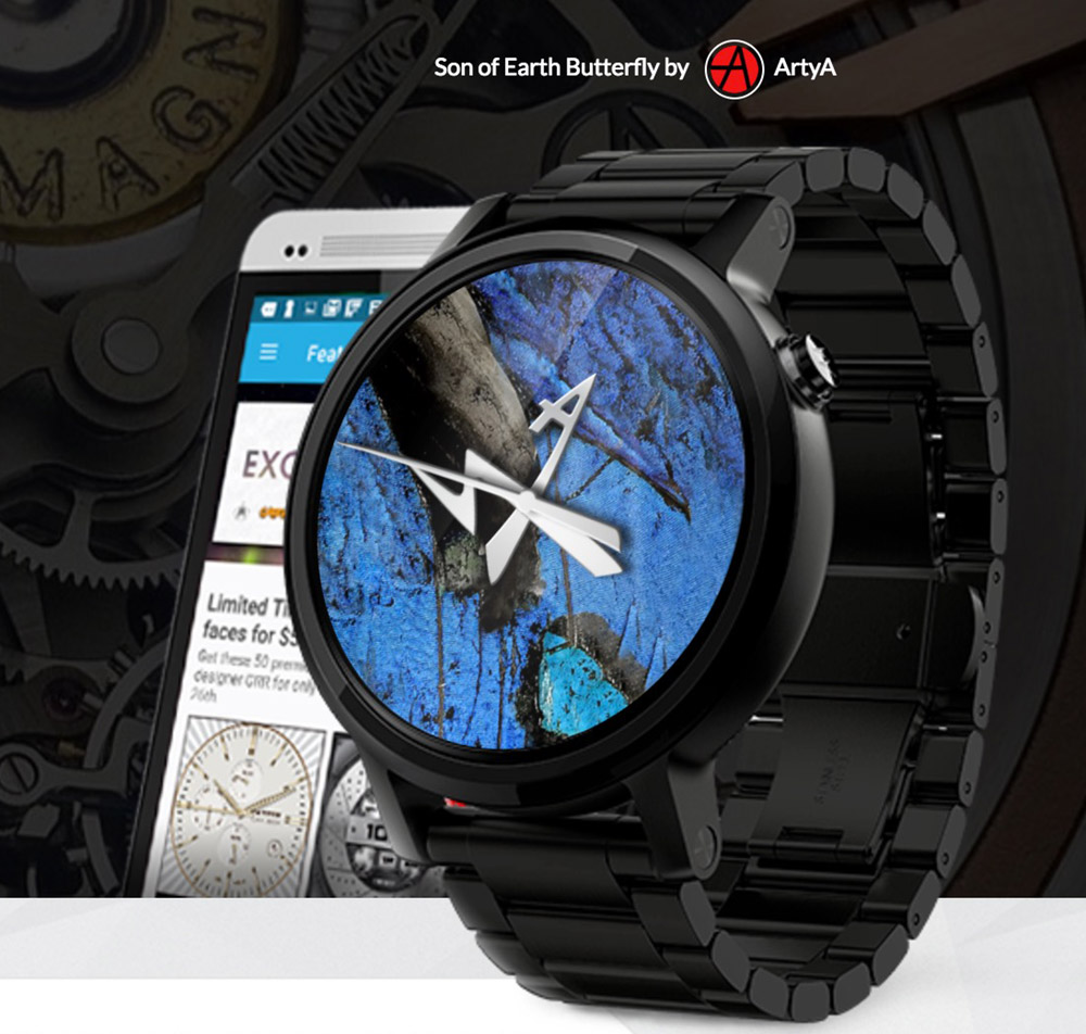 Facer 4.0 Smartwatch Faces With 'Official' Dials From ...