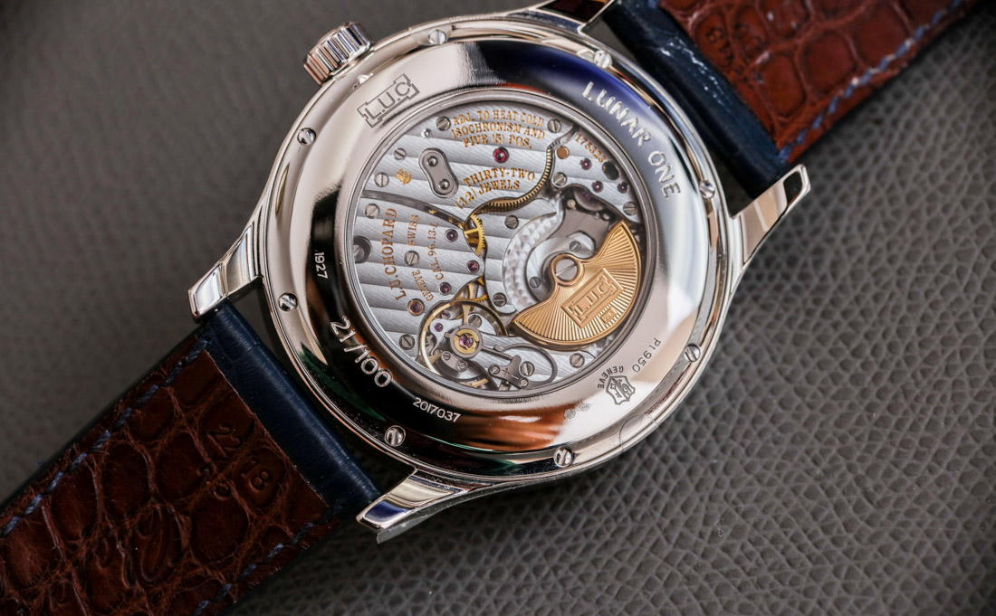 Chopard L.U.C Lunar One Perpetual Calendar Watch Review Wrist Time Reviews