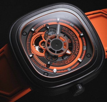 SevenFriday P3/07 KUKA III Edition Watch Watch Releases