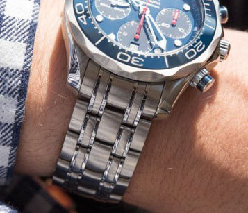 Omega Seamaster 300M Co-Axial Chronograph 41.5mm Watch Review Seamaster Wrist Time Reviews