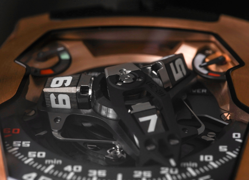 Urwerk UR-210 RG Watch Review Wrist Time Reviews