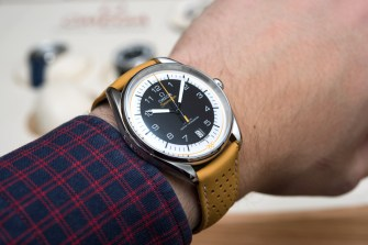 Omega Seamaster Olympic Games Watch Collection For 2018 Hands-On Hands-On Seamaster Stopwatch