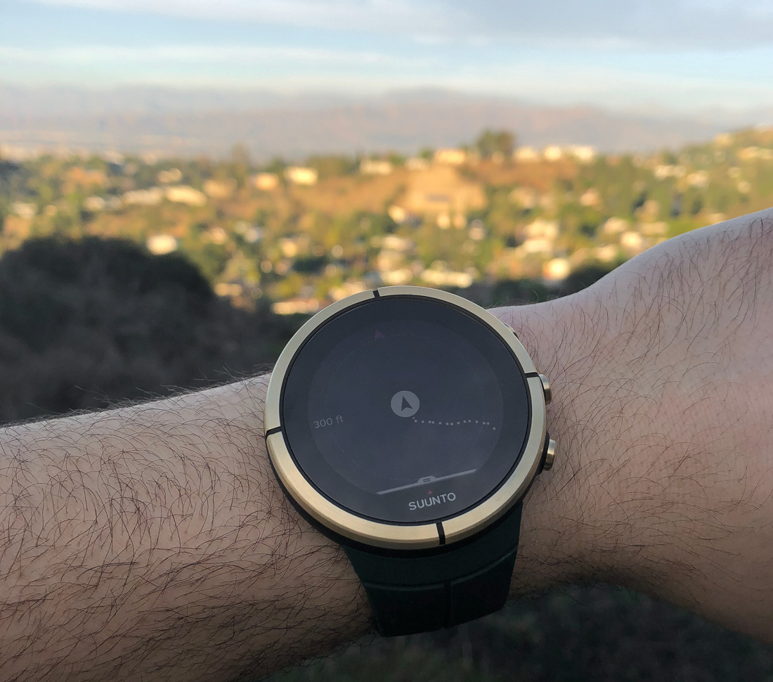 Gps Smartwatch Review Video Suunto Spartan Ultra Gold Edition All Black Titanium Hr An Afternoon Hike With The Fitness Wrist Time Reviews