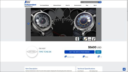 Independent-Watches.com & The Promotion Of Enthusiast-Founded Watch Brands Featured Articles