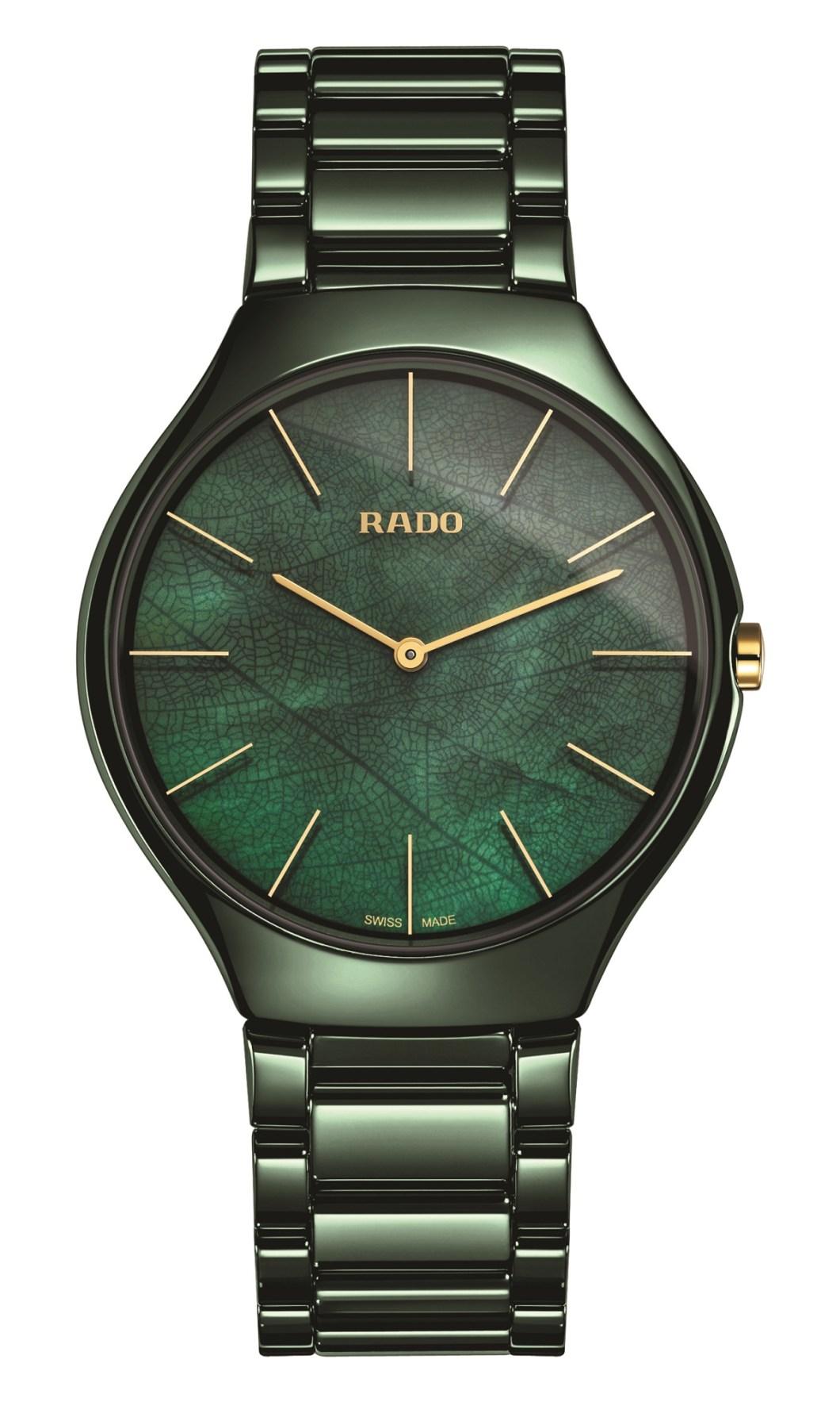 Rado True Thinline Quartz 'Nature' Watch Releases