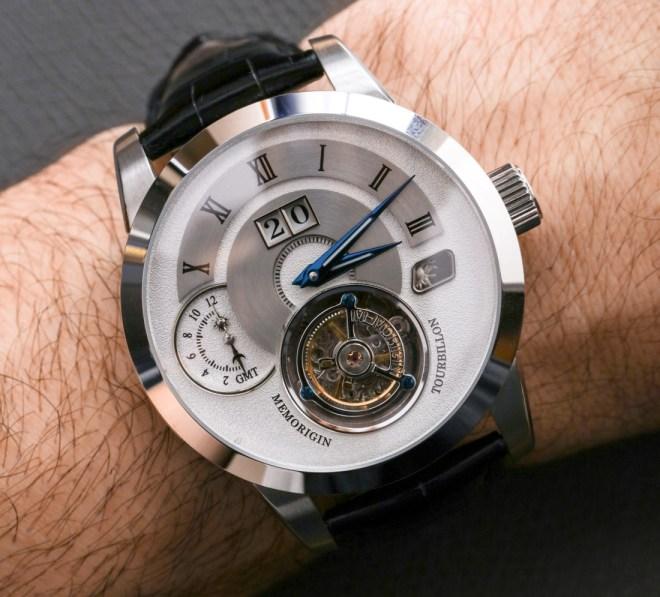 Memorigin Grand Series AT 1003 Tourbillon Watch Review Wrist Time Reviews