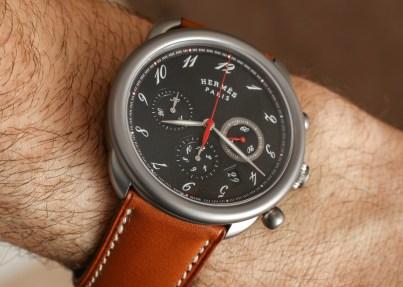 Hermès Arceau Chrono Titane Watch Hands-On Hands-On