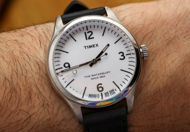 Timex For Mr  Porter Waterbury 792915 Watch Hands-On