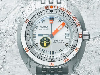 Doxa SUB 300 Searambler 'Silver Lung' Re-Issue Dive Watch Watch Releases
