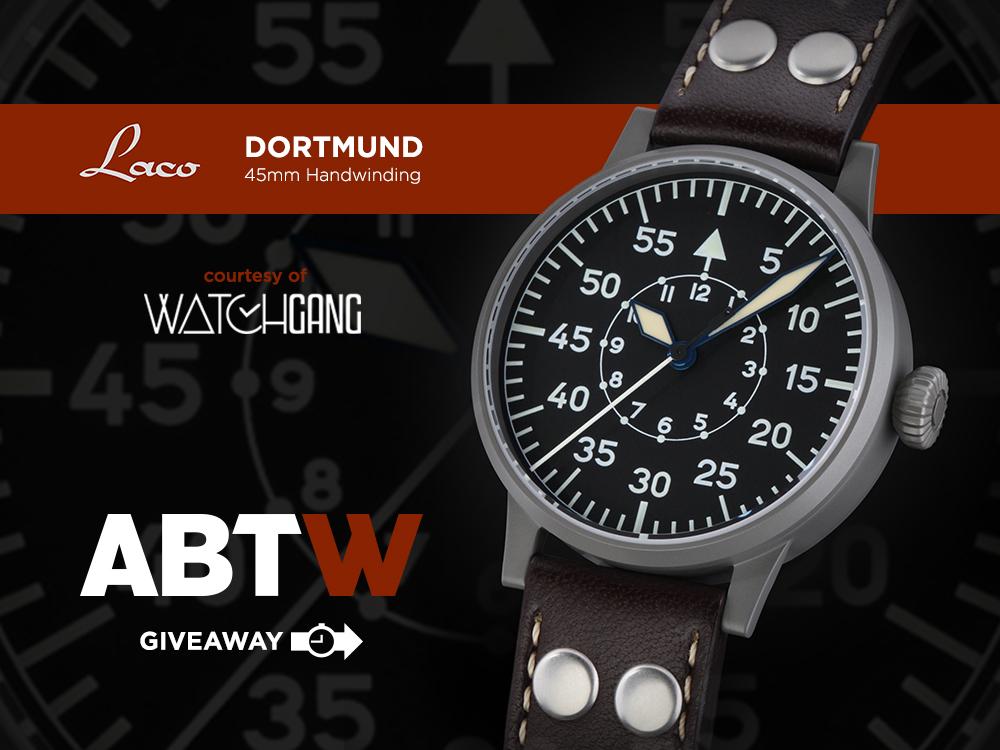 WATCH GIVEAWAY: Laco Dortmund Pilot Watch Giveaways