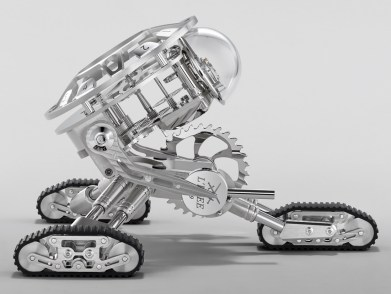 MB&F Grant Robot Clock By L'Epée Watch Releases