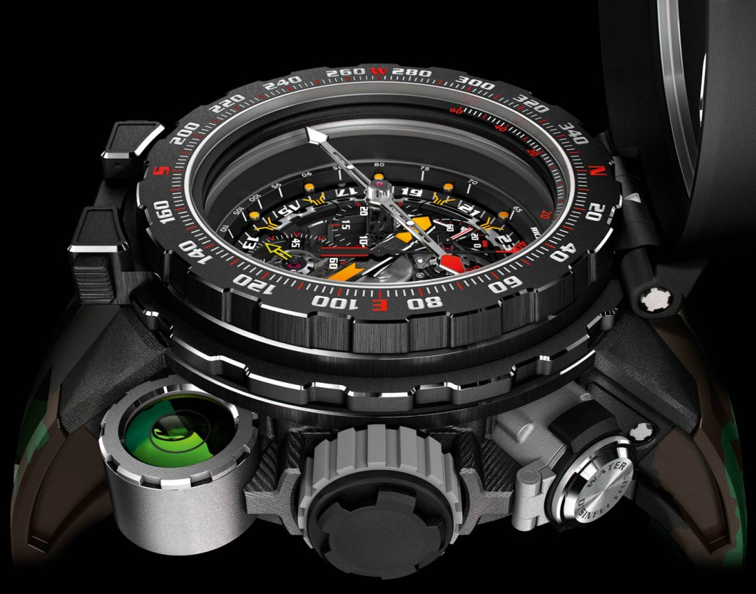 Richard Mille's New Million Dollar RM 25-01 Tourbillon Adventure Watch For Sylvester Stallone Mens Watches Watch Releases