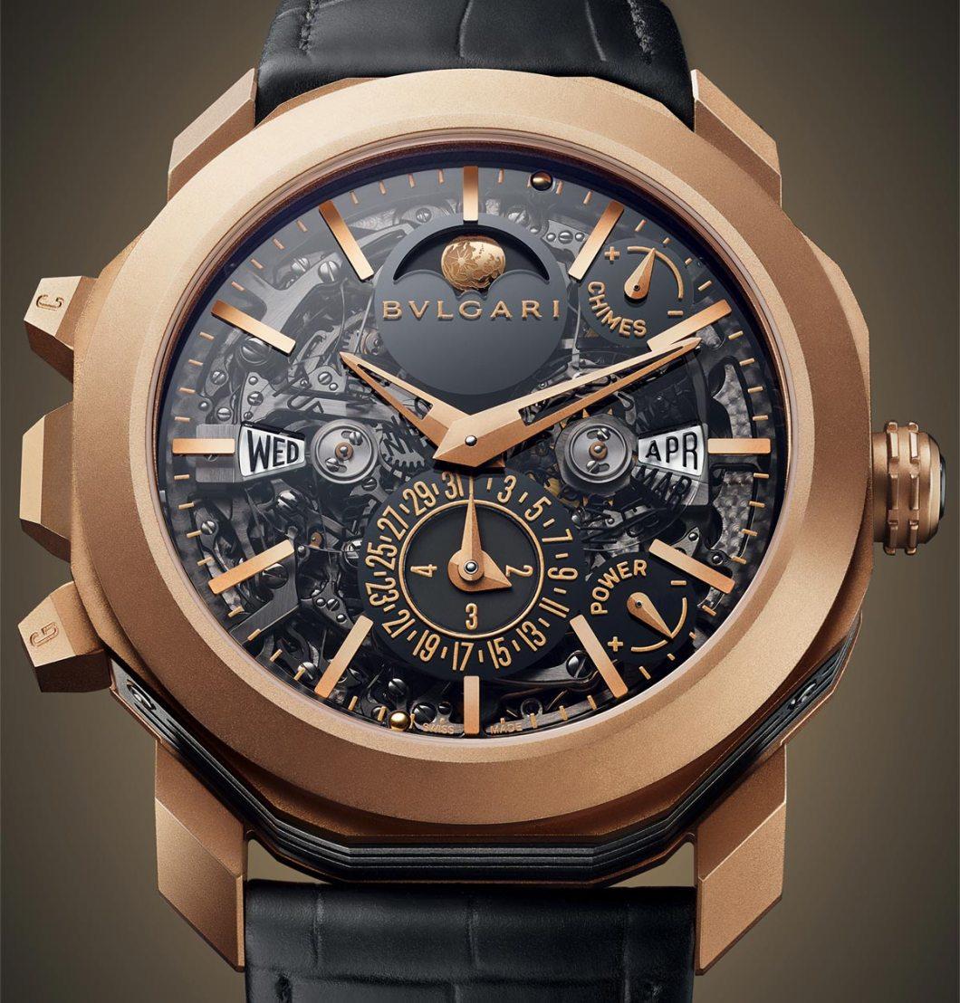 Bulgari octo grande sonnerie perpetual calendar watch ablogtowatch for Grande sonnerie