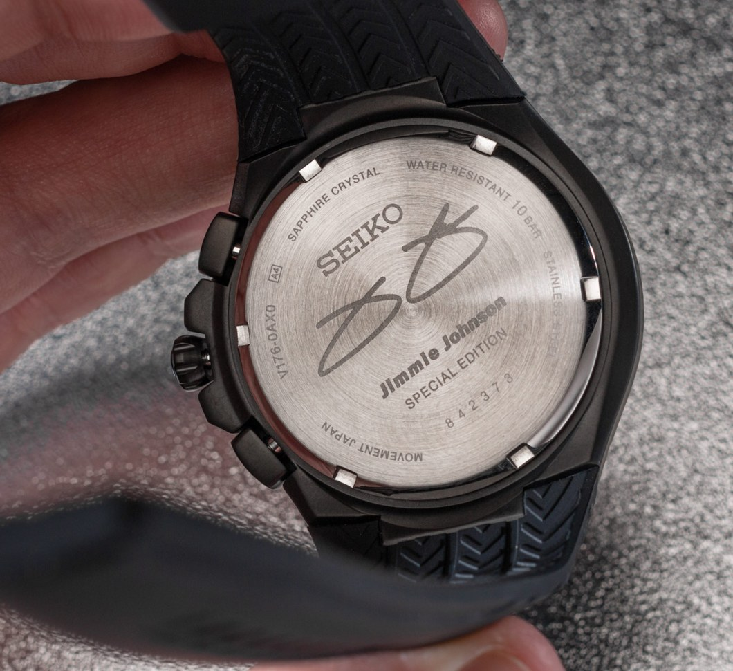 Seiko Coutura Solar Chronograph Jimmie Johnson Special Edition Watch Hands-On Hands-On
